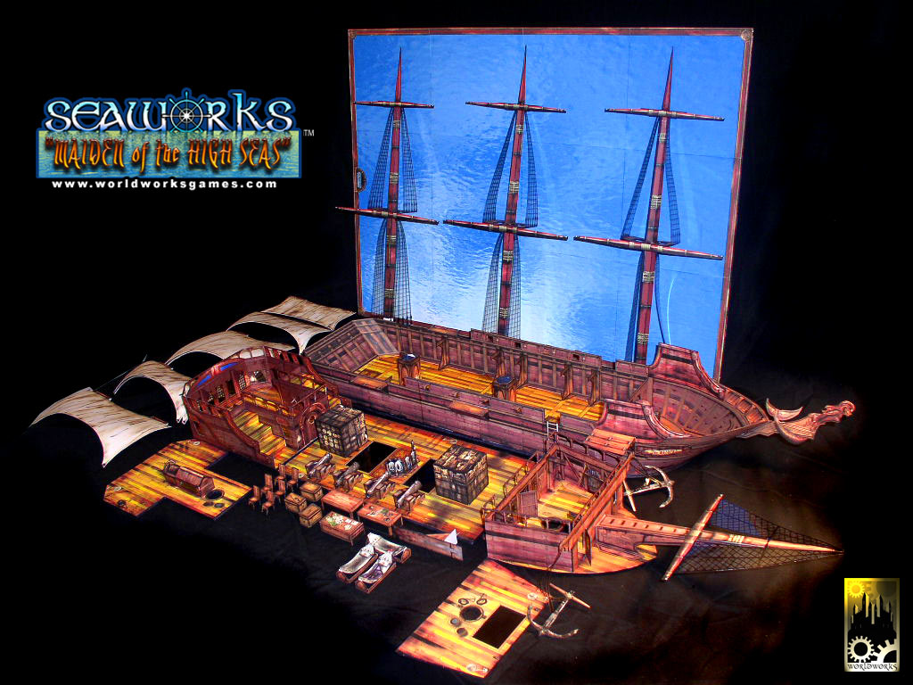 Worldworksgames Maiden Of The High Seas